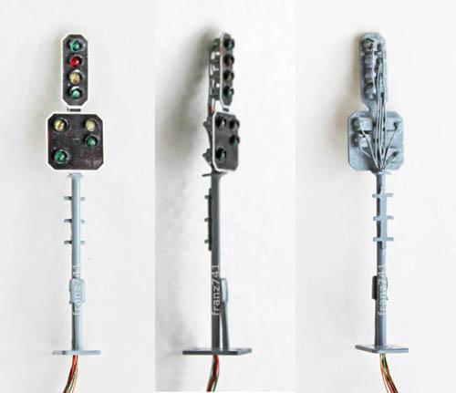 Kyodo-4288-SBB-Typ-L-Hauptsignal-und-Vorsignal-je-4-flammig