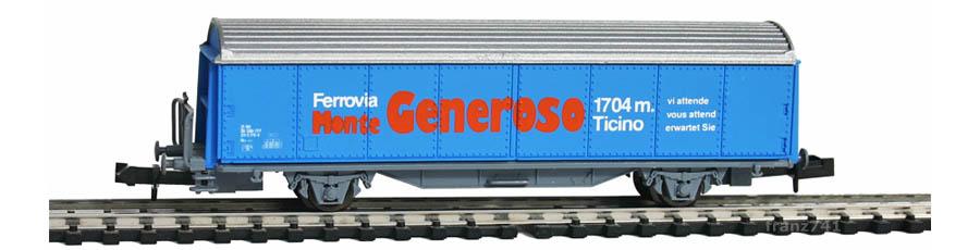 AKU-9011-Schiebewandwagen-SBB-GENEROSO-Basis-Roco