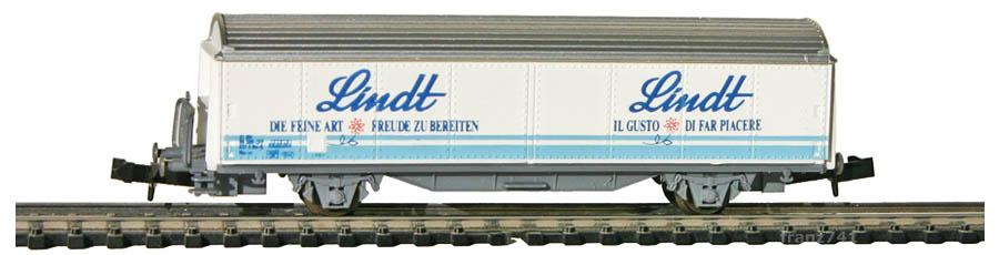 AKU-9013-Schiebewandwagen-SBB-LINDT-Basis-Roco