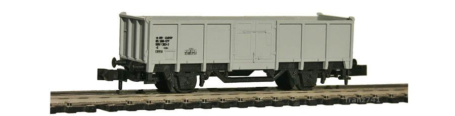 AKU-9021-Hochbordwagen-grau-SBB-Basis-Minitrix-13585