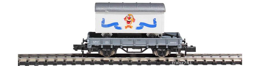 Arnold-0168-1-Kps-Niederbordwagen-KNIE-Set-Clowngesicht