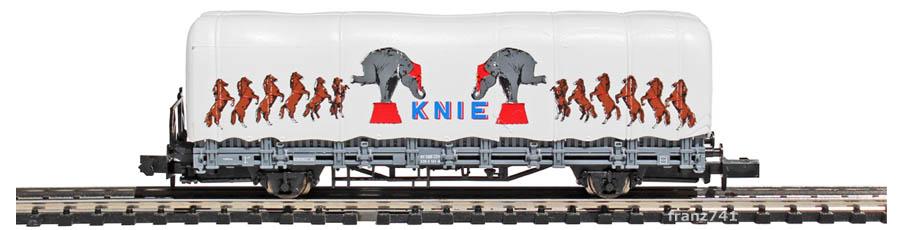 Arnold-0168-4-Kps-Rungenwagen-KNIE-Set-Elefanten
