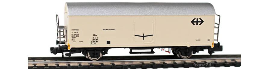 Arnold-1003-17-Ibceqss-Kuehlwagen-SBB-beige