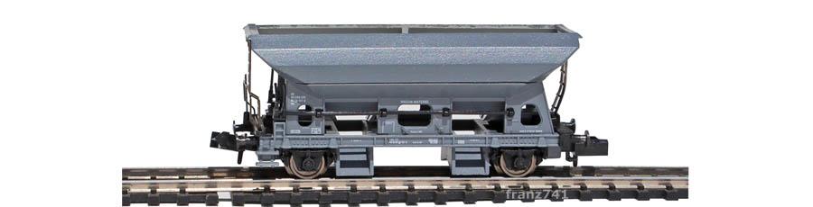 Arnold-4434-Schotterwagen-SBB-grau