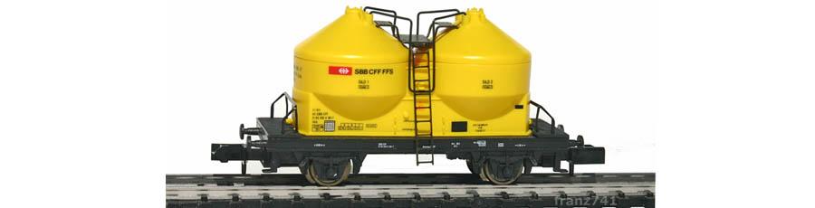 Arnold-4507-Silowagen-SBB-gelb