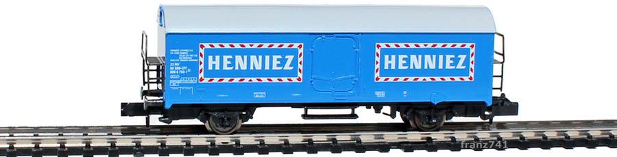 Arnold-4554-Kuehlwagen-SBB-HENNIEZ