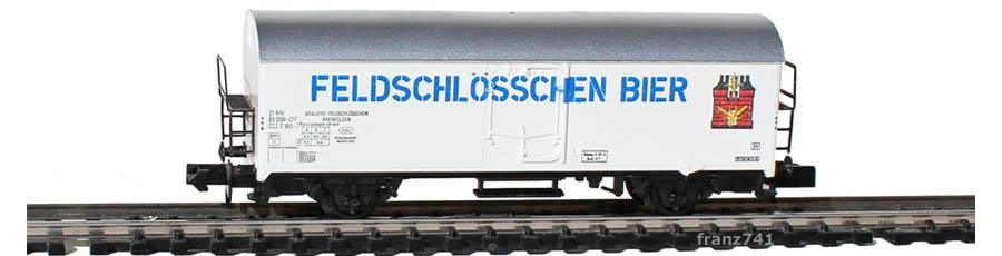 Arnold-4567-Kuehlwagen-SBB-Feldschloesschen-Bier