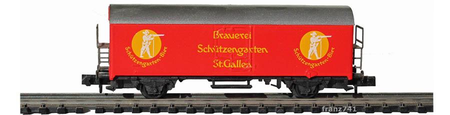 Arnold-4586-Ichqrs-Kuehlwagen-Brauerei-Schuetzengarten