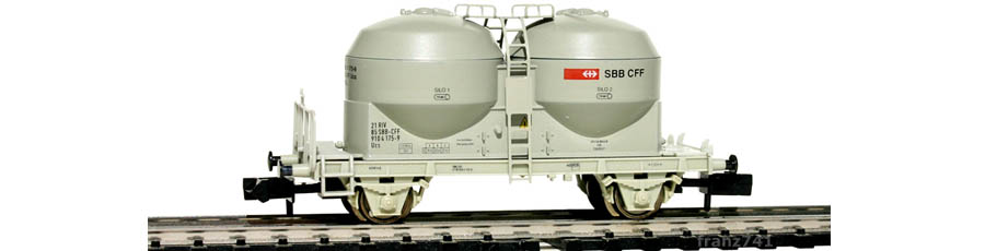 Arnold-4604-Silowagen-SBB-grau