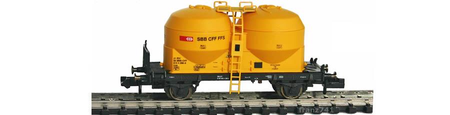 Arnold-Hornby-6000-Silowagen-SBB-gelb