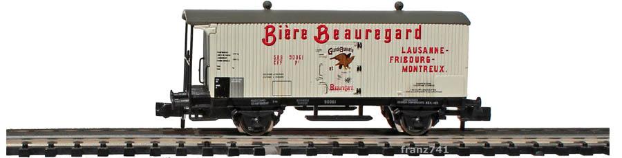 Arnold-Hornby-6019-Gueterwagen-Set-SBB_Biere-Beauregard-Lausanne