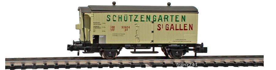 Arnold-Hornby-6019-Gueterwagen-Set-SBB_Schuetzengarten-St-Gallen