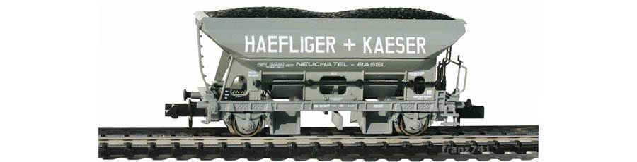 Arnold-Hornby-6029-Schuettgutwagen-SBB-HAEFLIGER+KAESER