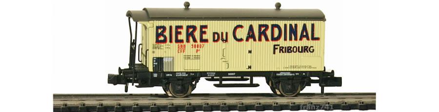 Arnold-Hornby-6030-Gueterwagen-Set-SBB-Biere-du-Cardinal