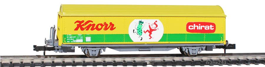 Baur-255-Schiebewandwagen-SBB-Knorr-Chirat-Basis-Roco