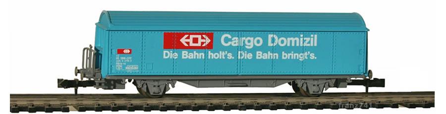 Baur-261-Schiebewandwagen-SBB-CARGO-DOMIZIL-Basis-Roco
