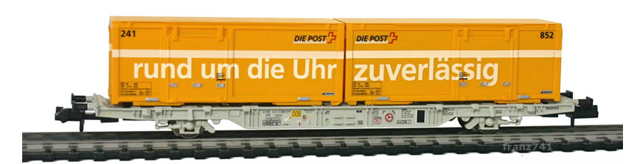 Creanorm-5010-Containerwagen-SBB-mit-Postcontainern_rund-um-die-Uhr_zuverlaessig