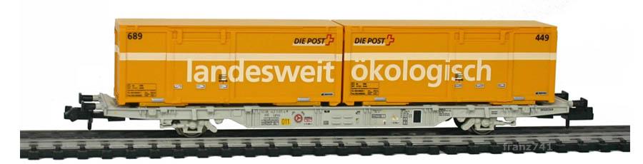 Creanorm-5013-Containerwagen-SBB-mit-Postcontainern_landesweit_oekologisch