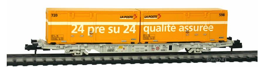 Creanorm-5015-Containerwagen-SBB-mit-Postcontainern_24-pre-su-24_qualite-assuree