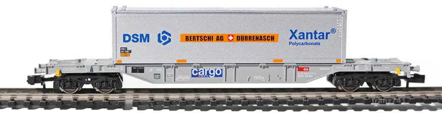 Fleischmann-8255-01-Sgns-Set-Tragwagen-Container-Bertschi-Duerrenaesch_2