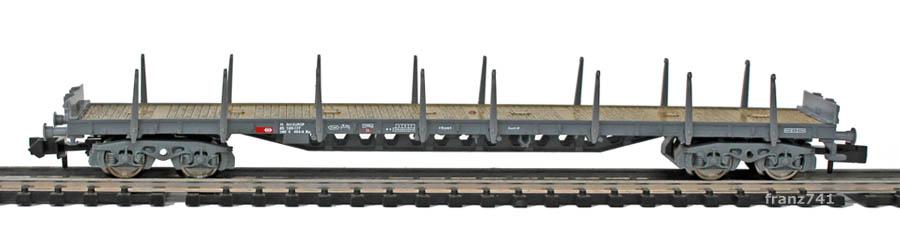 Fleischmann-8268-03-Rs-Rungenwagen-SBB-grau
