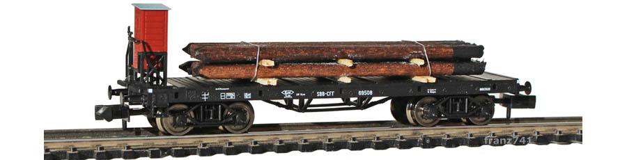 Fleischmann-8285-04-SSk-Rungenwagen-SBB-schwarz-Bremserhaus-Telefonmasten.jpg