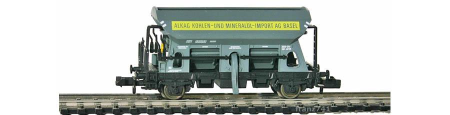 Fleischmann-8511-Selbstentladewagen-SBB-ALKAG