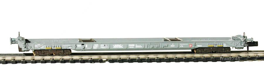Fleischmann-90-8270-HUPAC-Anfangs-End-Niederflurwagen-SBB-grau