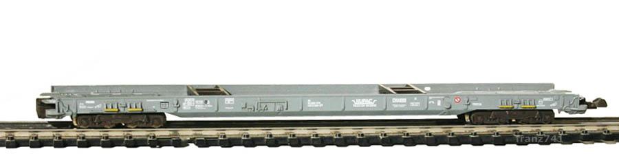 Fleischmann-90-8271-HUPAC-Zwischen-Niederflurwagen-SBB-grau