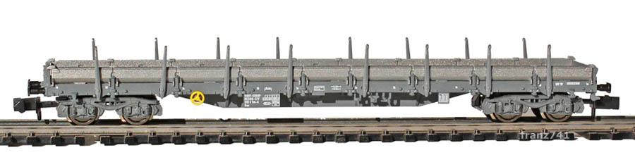Fleischmann-9316-81-5-Res-Rungenwagen-SBB-silber