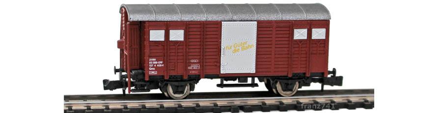 Hobbytrain-23021-Gms-Gedeckter-Gueterwagen-Bremserhaus-SBB-braun-de-fr
