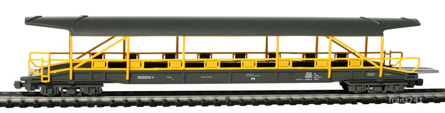 Hobbytrain-23061-2-Set-Auto-Verladewagen-BLS