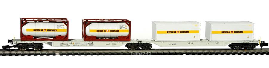 Hobbytrain-23709-Doppelgelenktragwagen-SBB-BERTSCHI