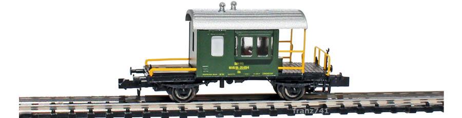 Hobbytrain-31031-Gueterzug-Begleitwagen-SBB-gruen_Seite2