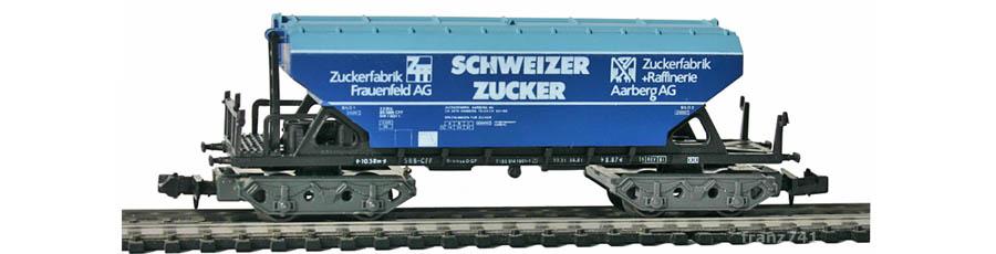 Ibertren-6483-Schuettgutwagen-SBB-SCHWEIZER-ZUCKER