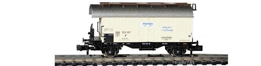 Liliput-L265112-Kuehlwagen-SBB-Interfrigo