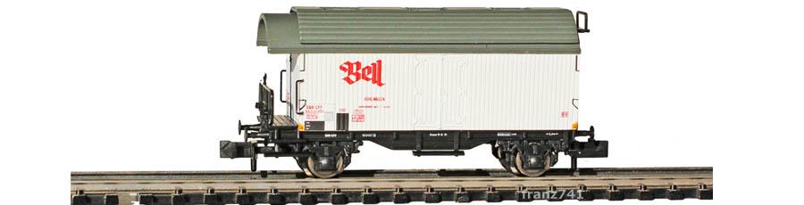 Liliput-L265114-Kuehlwagen-SBB-BELL-weiss