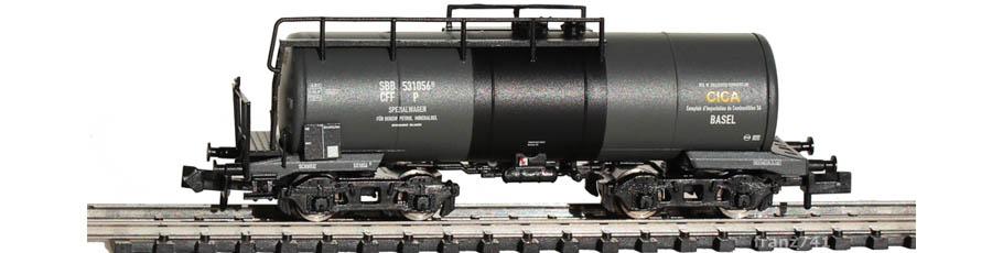Liliput-L265961-Kesselwagen-SBB-CICA-Basel