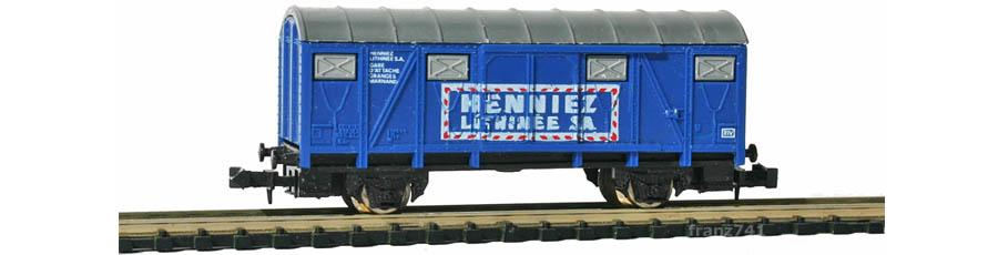 Lima-320459-Gedeckter-Gueterwagen-SBB-HENNIEZ