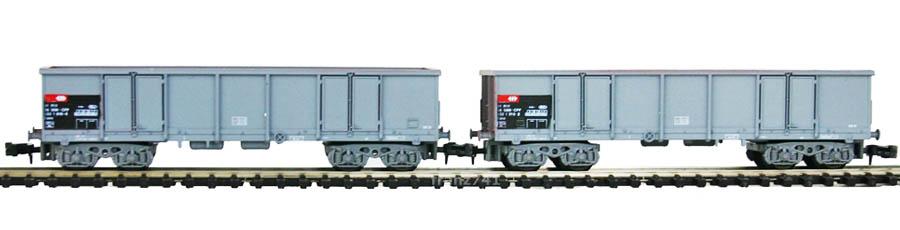 Lima-320648-Hochbordwagen-Set-SBB-grau