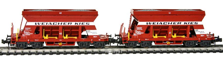 Lima-320650-Schuettgutwagen-Set-SBB-WEIACHER-KIES