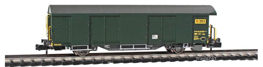 Mabar-86400-Z2-Postwagen-353-gruen-Epoche-IV_2Seite