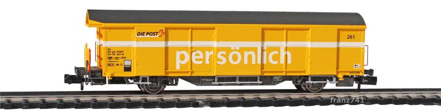 Mabar-86500-Z2-Postwagen-261-gelb-deutsche-Beschriftung_1Seite