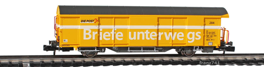 Mabar-86500-Z2-Postwagen-284-gelb-deutsche-Beschriftung_2Seite