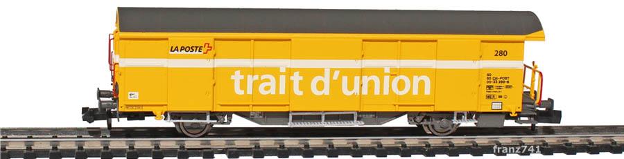 Mabar-86501-Z2-Postwagen-280-gelb-franzoesische-Beschriftung_2Seite
