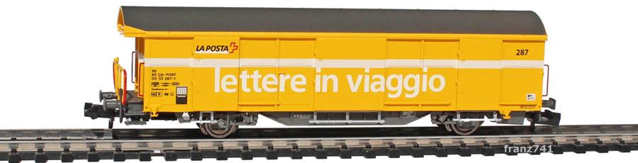 Mabar-86502-Z2-Postwagen-287-gelb-italienische-Beschriftung_1Seite
