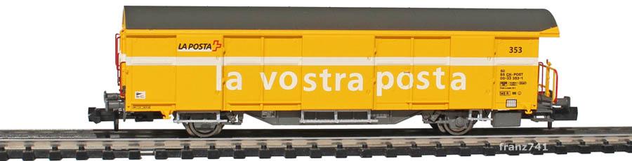 Mabar-86502-Z2-Postwagen-353-gelb-italienische-Beschriftung_2Seite