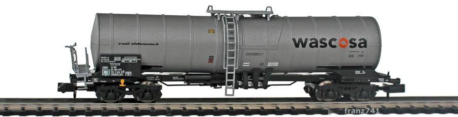 Minitrix-11126-5-Knick-Kesselwagen-Wascosa
