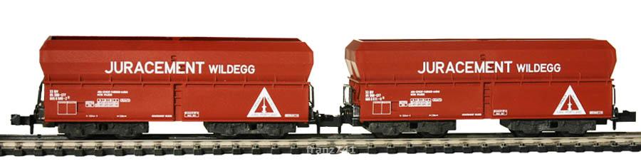 Minitrix-13287-51-Schuettgutwagen-SBB-JURACEMENT