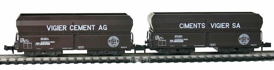 Minitrix-13609-Schuettgutwagen-SBB-VIGIER-CEMENT